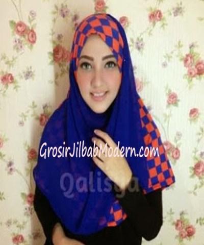 Jilbab Syria Elmo No 2 Benhur Orange