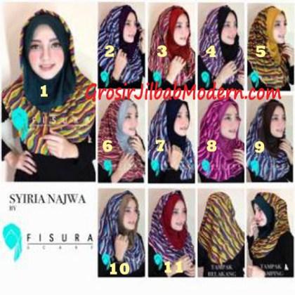 Jilbab Syria Najwa Series