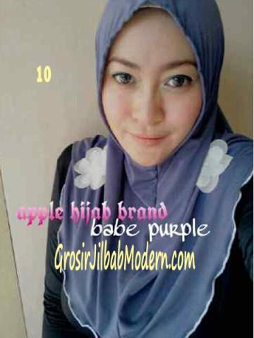 Jilbab Syria Simplity Rose No 10 Babe Purple