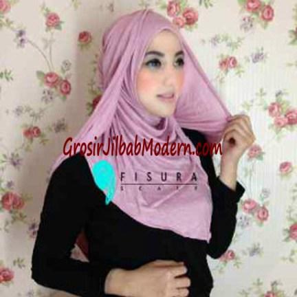 Jilbab Syria Dhella No 01 Dustypink