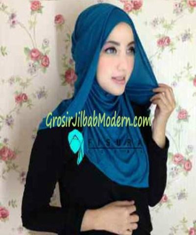 Jilbab Syria Dhella No 05 Toska
