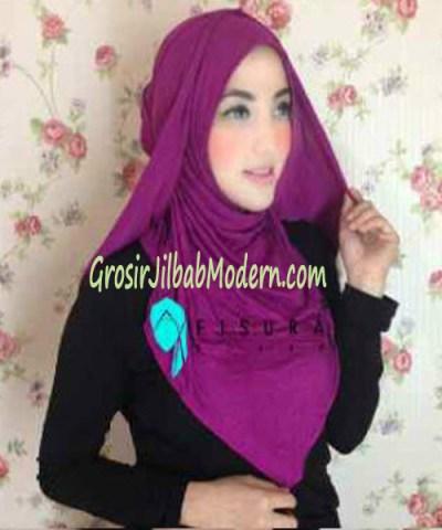Jilbab Syria Dhella No 07 Magenta