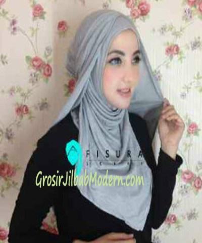 Jilbab Syria Dhella No 11 Silver