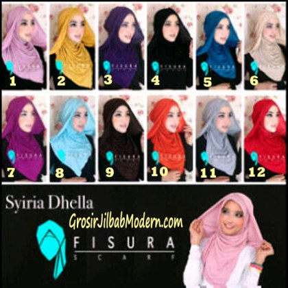 Jilbab Syria Dhella Series