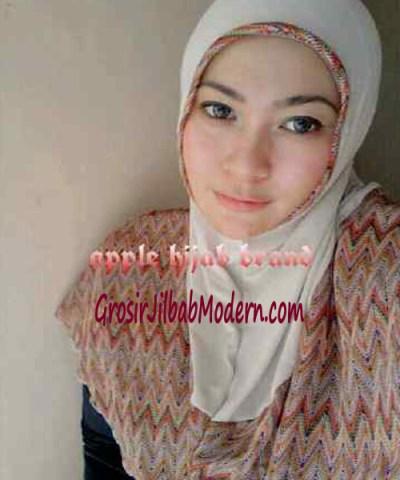 Jilbab Syria Malika No 3 Cream