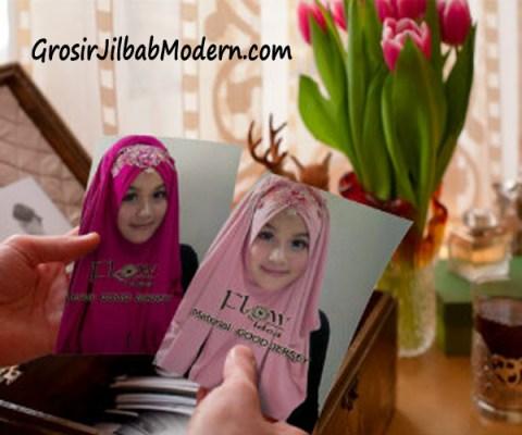 Jilbab Syria Sphinxa Pink Fanta