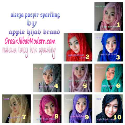 Jilbab Syrpash Ruffle Sparkling Series