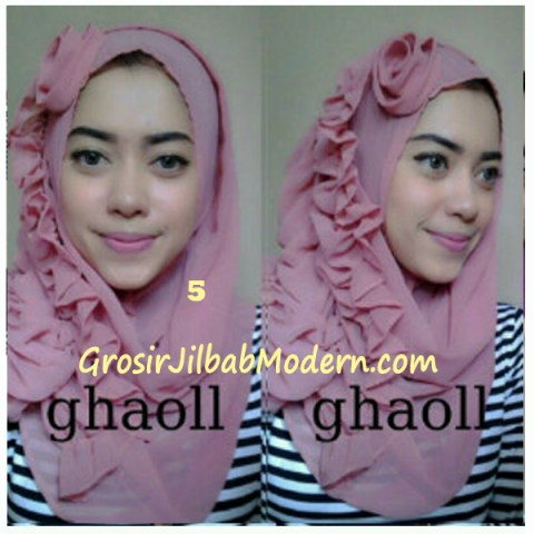 Pashmina Instant Crinkle by Ghaoll No 5 Dusty