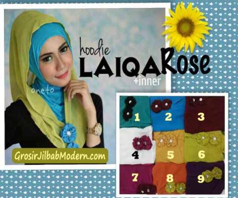 Jilbab Hoodie Laiqa Rose