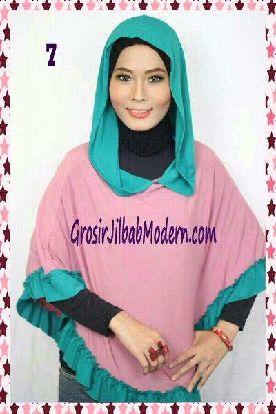 Jilbab Jumbo Capuchon No 7 Dusty