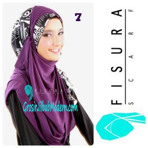 Jilbab Syria Lindsey No 7 Ungu