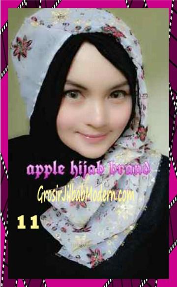 Jilbab Syrpash Instant Nicole Premium by Apple Hijab Brand No 11