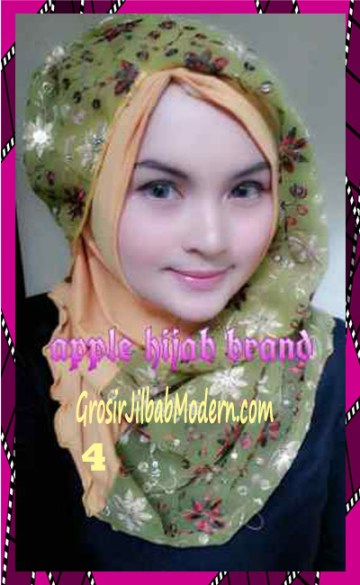Jilbab Syrpash Instant Nicole Premium by Apple Hijab Brand No 4