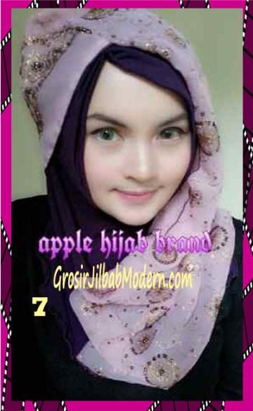 Jilbab Syrpash Instant Nicole Premium by Apple Hijab Brand No 7