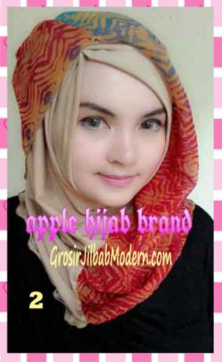 Jilbab Syrpash Instant Nicole by Apple Hijab Brand No 2