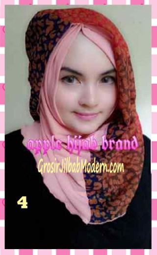 Jilbab Syrpash Instant Nicole by Apple Hijab Brand No 4