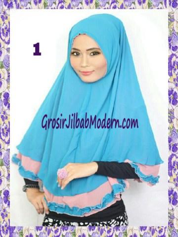 Jilbab Khimar Cantik Yasmine No 1