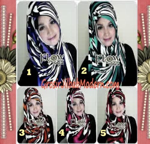 Jilbab Pashmina Syria Lollipita by Flow Idea Series