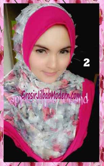Jilbab Syria Annete by Apple Hijab Brand Unik No 2