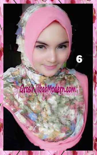 Jilbab Syria Annete by Apple Hijab Brand Unik No 6
