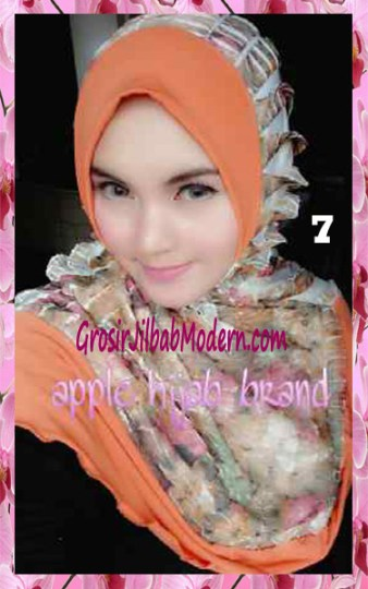 Jilbab Syria Annete by Apple Hijab Brand Unik No 7