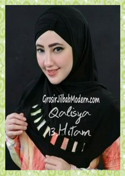 Jilbab Syria Modis Nuha Original By Qalisya No 13 Hitam
