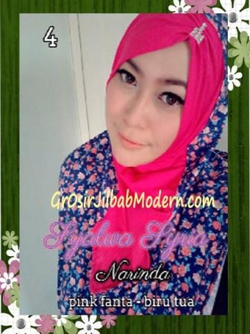 Jilba Syria Syalwa Modis by Narinda No 4 Pink Fanta - Biru Tua
