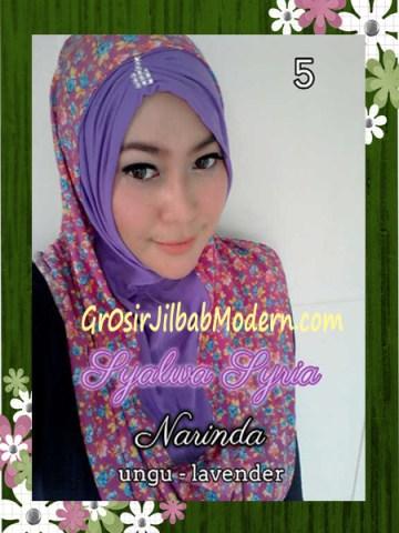 Jilba Syria Syalwa Modis by Narinda No 5 Ungu - Lavender