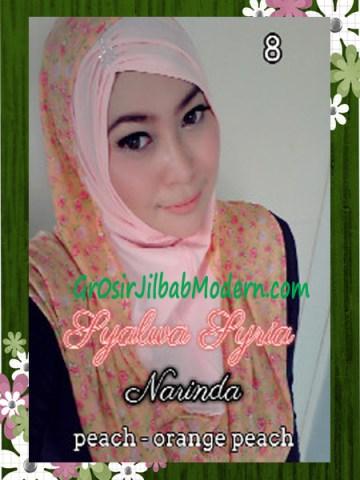 Jilba Syria Syalwa Modis by Narinda No 8 Prach - Orange Peach