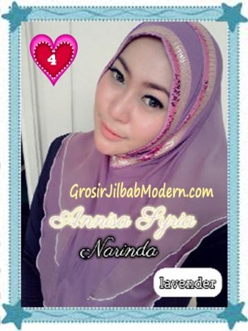 Jilbab Syria Annisa by Narinda Modis No 4 Lavender