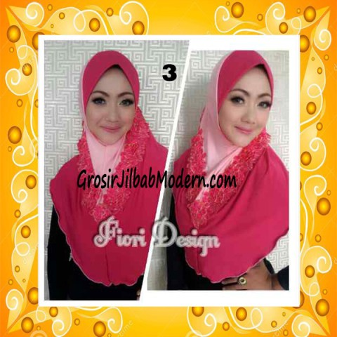 Jilbab Syria Daniah Cantik By Fiori Design No 3 Fanta