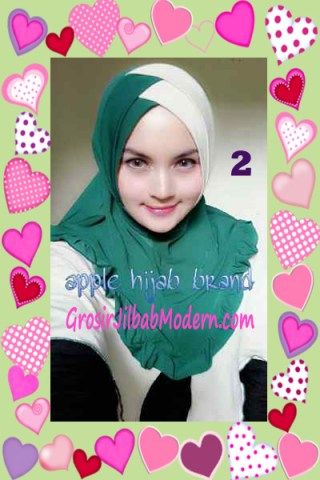 Jilbab Syria Khayra Stylish by Apple Hijab Brand No 2