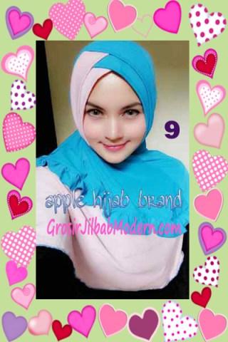 Jilbab Syria Khayra Stylish by Apple Hijab Brand No 9