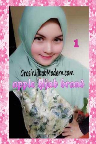 Jilbab Syria Kyle Frill Original by Apple Hijab Brand No 1