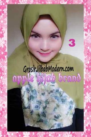 Jilbab Syria Kyle Frill Original by Apple Hijab Brand No 3