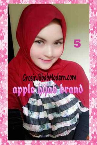 Jilbab Syria Kyle Frill Original by Apple Hijab Brand No 5