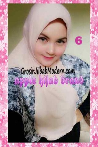 Jilbab Syria Kyle Frill Original by Apple Hijab Brand No 6