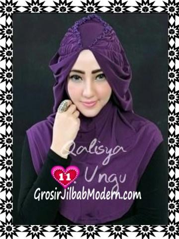 Jilbab Syria Mumtaz by Qalisya Modis dan Trendy No 11 Ungu