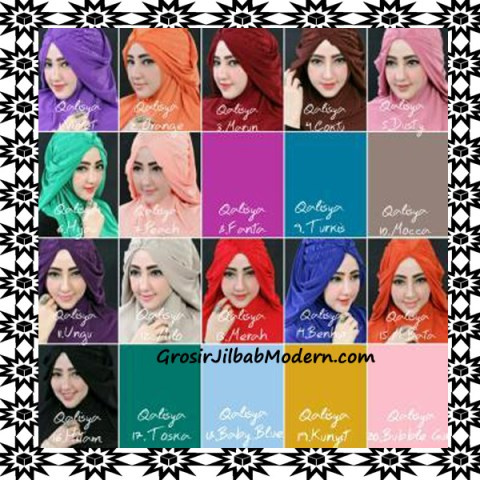 Jilbab Syria Mumtaz by Qalisya Modis dan Trendy Series