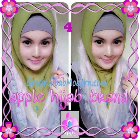 Jilbab Pesta Syria Hoodie Safeea Modis by Apple Hijab Brand No 4 Hijau Daun Combine Babe Pink