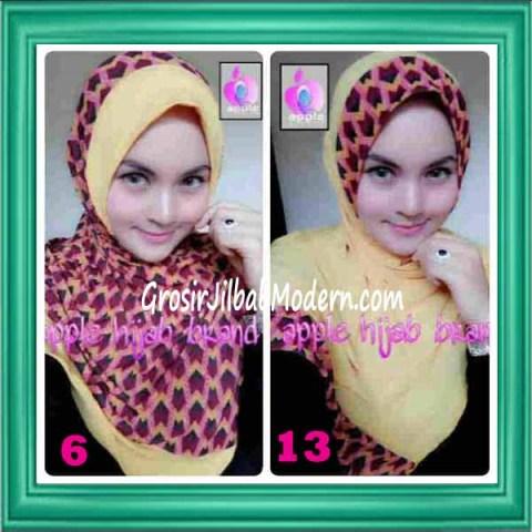 Jilbab Syria Daily Modis by Apple Hijab Brand No 6 & 13