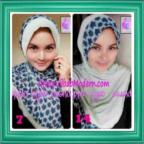 Jilbab Syria Daily Modis by Apple Hijab Brand No 7 & 14