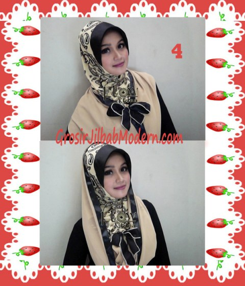 Jilbab Syria Hoodie Savana Seri 2 by Flow Idea No 4 Coksu