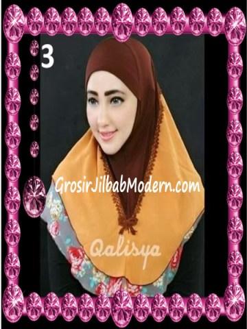 Jilbab Syria Kombinasi Cantik Ahza by Qalisya No 3