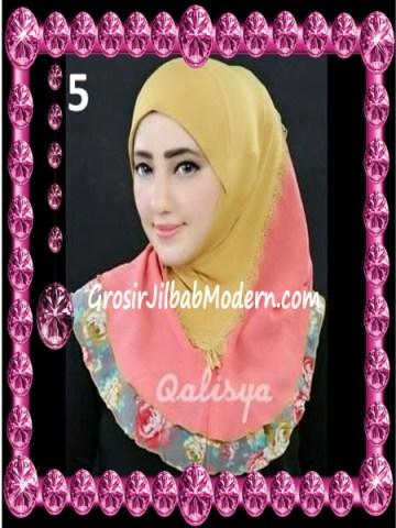 Jilbab Syria Kombinasi Cantik Ahza by Qalisya No 5