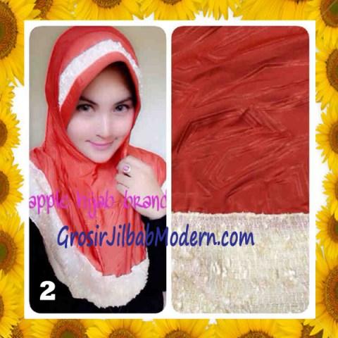Jilbab Syria Orin Etnik Emboss by Apple Hijab Brand No 2 Bata