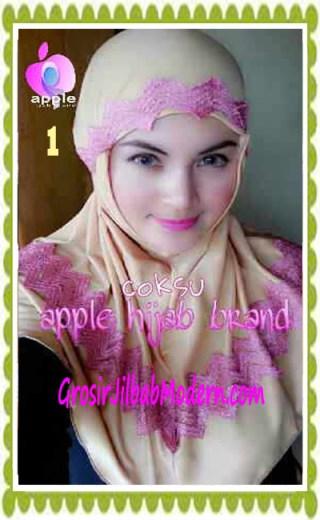 Jilbab Syria Syar'i J3nna by Apple Hijab Brand No 1