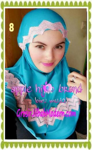 Jilbab Syria Syar'i J3nna by Apple Hijab Brand No 8