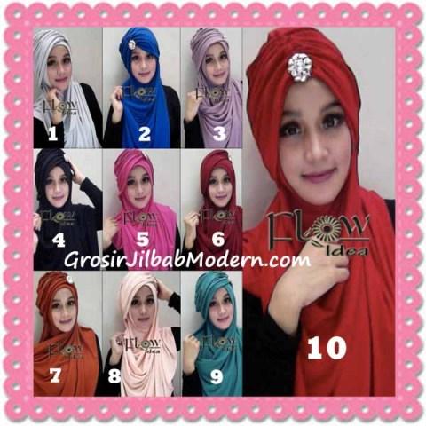 Jilbab Syria Topi Turban Almonda Trendy by FLOW Idea Series