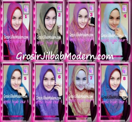 Jilbab Syria Unik Vienna Tutu by Apple Hijab Brand Series